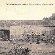 Fontaine-en-Dormois (51) La grande ferme du château CPA