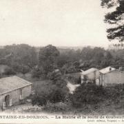 Fontaine-en-Dormois (51) La Mairie CPA