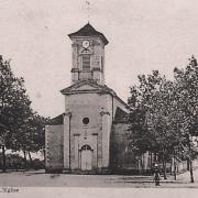 Fours (Nièvre) L'Eglise Saint Jean Baptiste CPA
