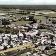 Fours (Nièvre) Vue générale CPA