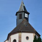 Friedolsheim 67 eglise saint denis