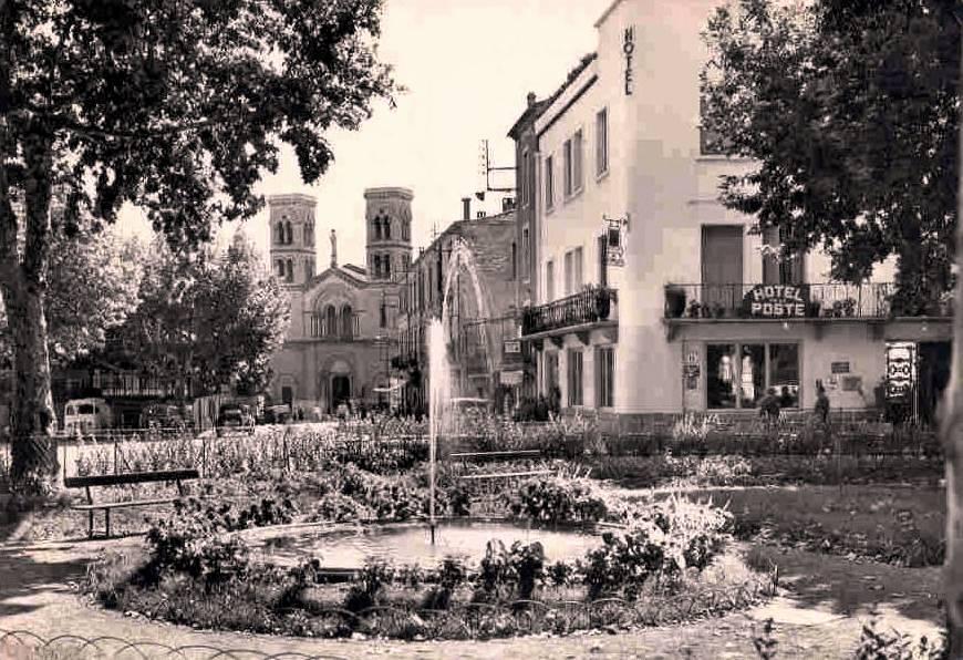 Ganges (Hérault) Le jardin du plan de l'Ormeau CPA