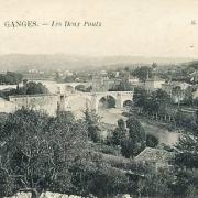 Ganges (Hérault) Les ponts CPA