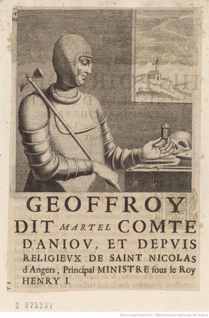 Geoffroy Martel d'Anjou, leur fils
