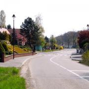 Gingsheim 67 l'entree du village