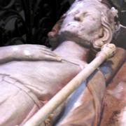 Gisant de Carloman Ier, frère de Charlemagne