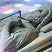 Gisant de Clovis Ier à Saint-Denis