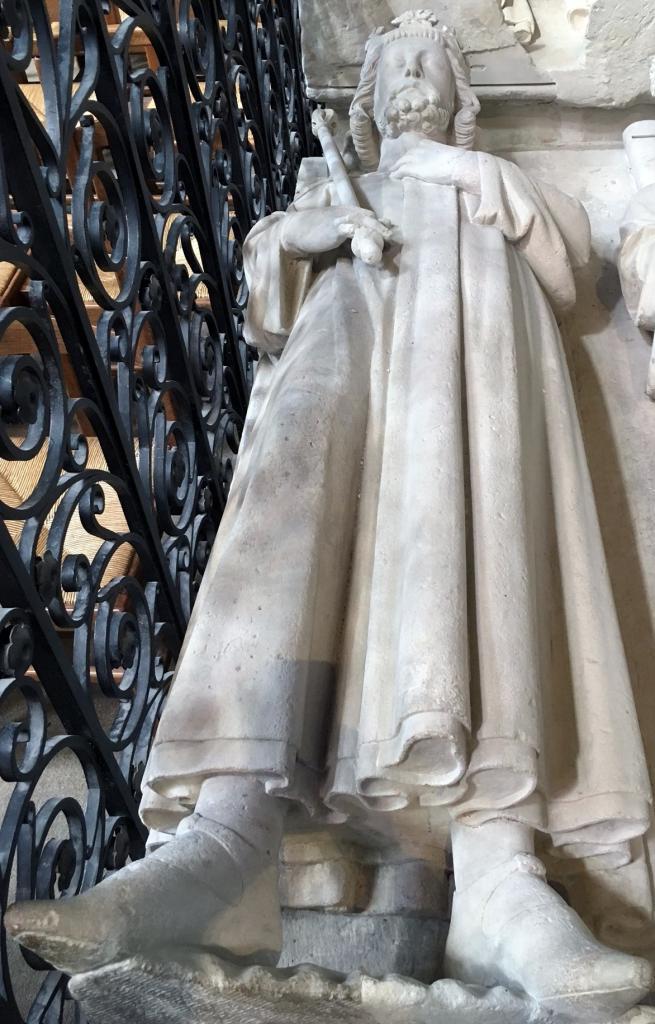Gisant de Louis VI le Gros à Saint-Denis