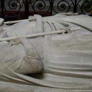 Gisant de Pépin le Bref et de Bertrade de Laon à Saint-Denis