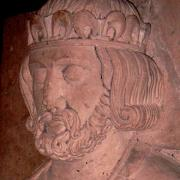 Gisant de Philippe Ier à l'abbaye de St Benoit-sur-Loire