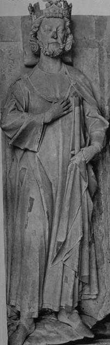 Gisant de Robert II à Saint-Denis