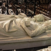 Gisants de Robert II et Constance d'Arles à Saint-Denis