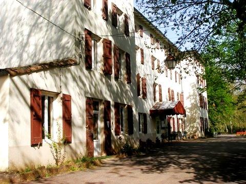 Gissac (Aveyron) Andabre, maison de Toulouse-Lautrec