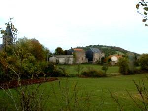 Gissac (Aveyron) Vue générale