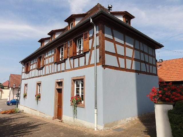 Gougenheim 67 l ancienne mairie-ecole