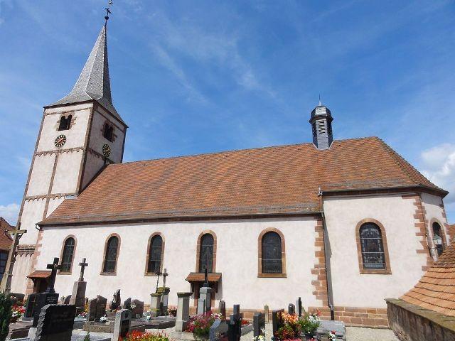 Gougenheim 67 l eglise saint-laurent