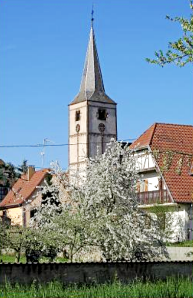 Gougenheim 67 l eglise saint-laurent