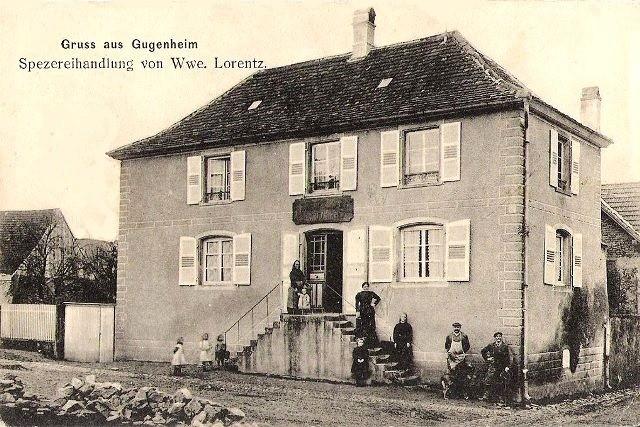 Gougenheim 67 la rue merciere cpa