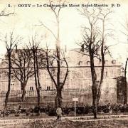 Gouy (Aisne) CPA Château