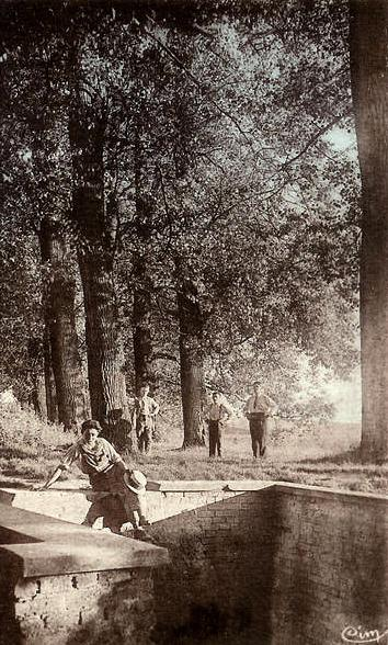 Gouy (Aisne) CPA L'Escaut (source)