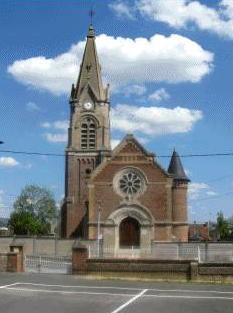 Gouy (Aisne) Eglise Saint Médart