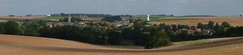 Gouy (Aisne) panorama