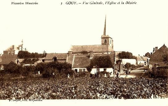 Gouy (Aisne) vue générale