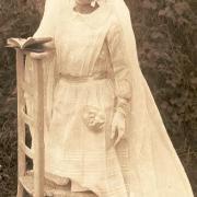 Marcelle Renée Gransard, communion en 1933