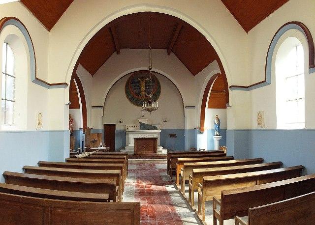 Gratreuil (51) L'église Saint-Nicolas, intérieur