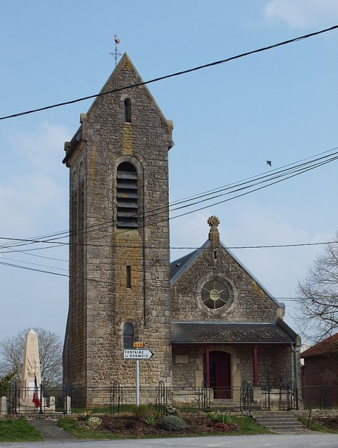 gratreuil (51) L'église Saint-Nicolas