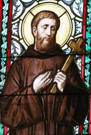Guillaume de Gellone, vitrail cathédrale de Prague
