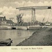 Guines pas de calais le banc valois le pont