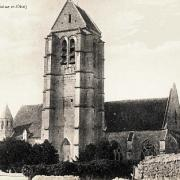 Haravilliers val d oise l eglise cpa