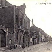Haussy 59 la mairie cpa
