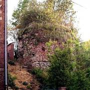 Haussy 59 la tour du chateau ruinée