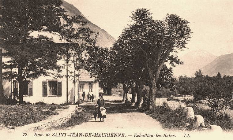 Hermillon (Savoie) Echaillon-les-bains CPA