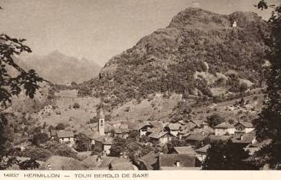 Hermillon (Savoie) La tour CPA