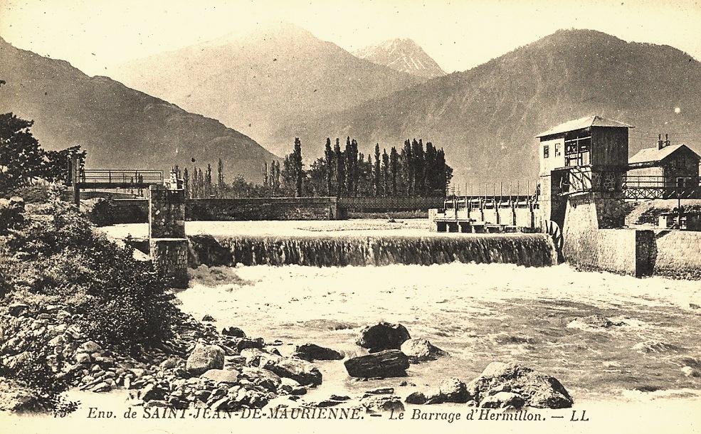 Hermillon (Savoie) Le barrage CPA
