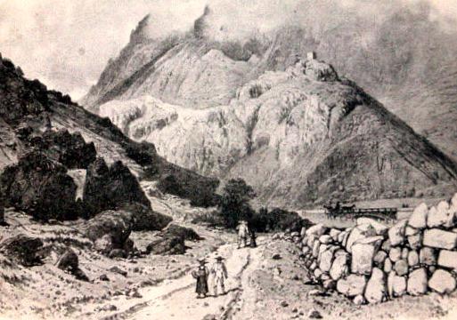 Hermillon (Savoie) Le pont et la tour du Châtel CPA