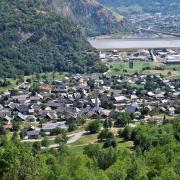 Hermillon (Savoie) Vue générale en 2015