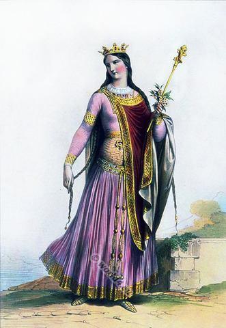 Hildegonde de Cologne, son épouse