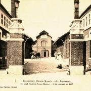 Hirson (Aisne) CPA les abattoirs en 1903