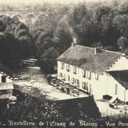 Hirson (Aisne) CPA Blangis l'hostellerie de l'étang