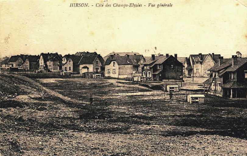 Hirson (Aisne) CPA la cité Champs Elysées