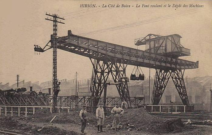 Hirson (Aisne) CPA la cité de Buire