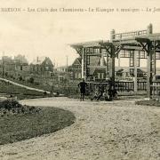Hirson (Aisne) CPA la cité des cheminots