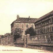 Hirson (Aisne) CPA l'école supérieure de filles