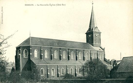 Hirson (Aisne) CPA la nouvelle église