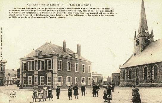 Hirson (Aisne) CPA l'église