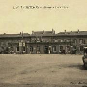 Hirson (Aisne) CPA la gare en 1934